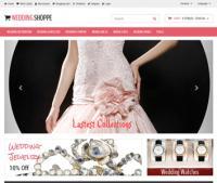 Шаблон сайта свадебной тематики