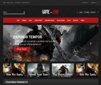 Шаблон сайта компьютерных игр