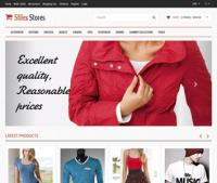 Шаблон магазина молодежной одежды